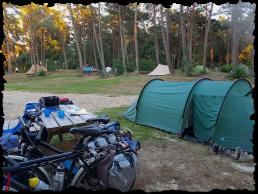 Natuur kamperen Horstmannsbos